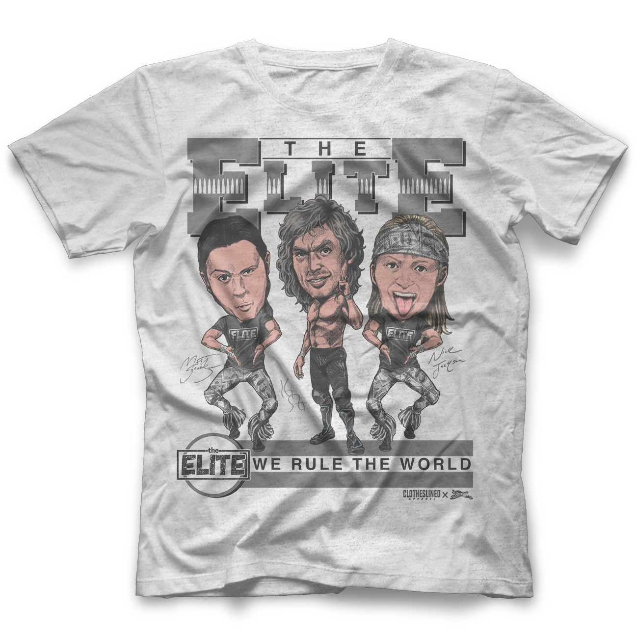 The Elite - Clotheslined X Notz