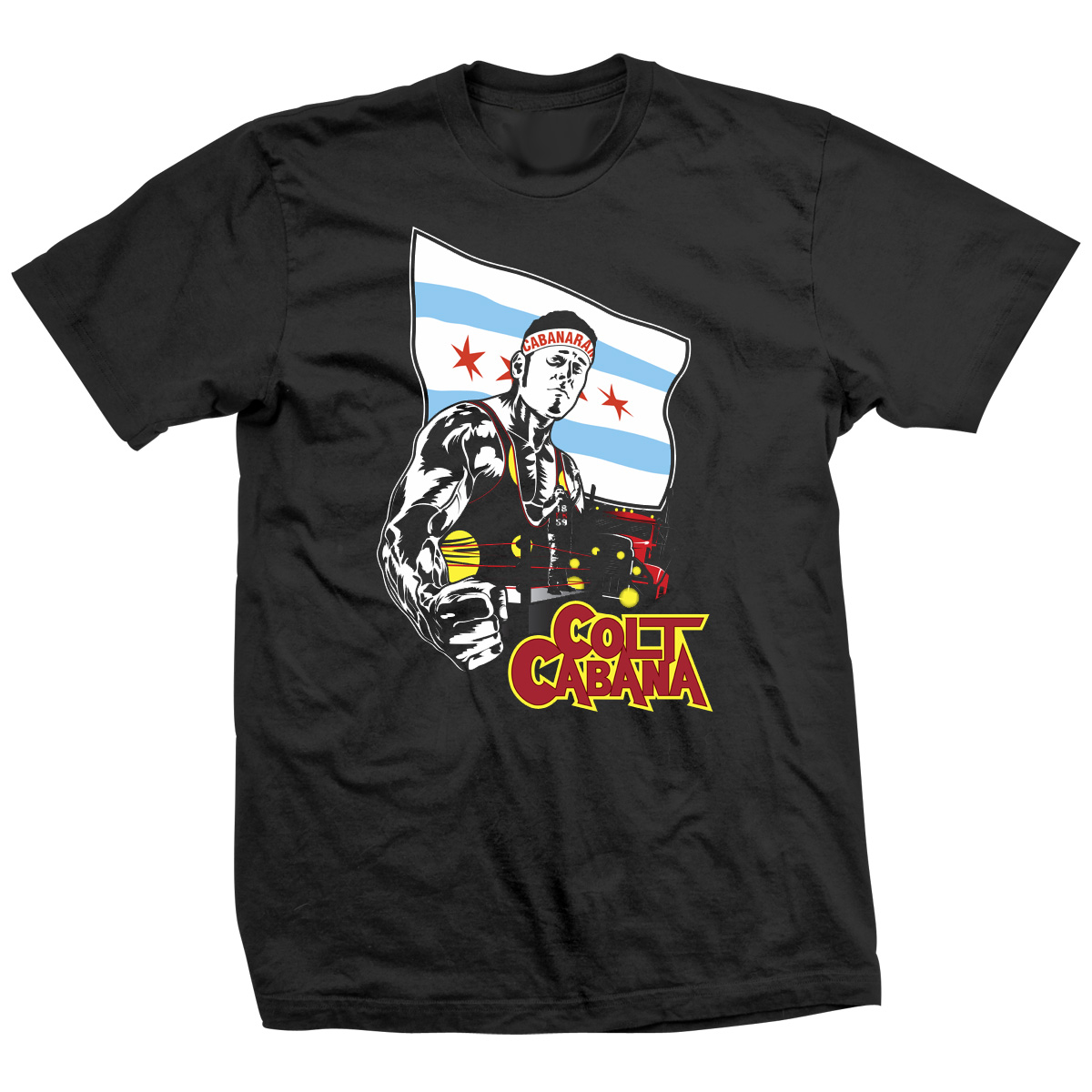 Colt Cabana Over The Top T-shirt