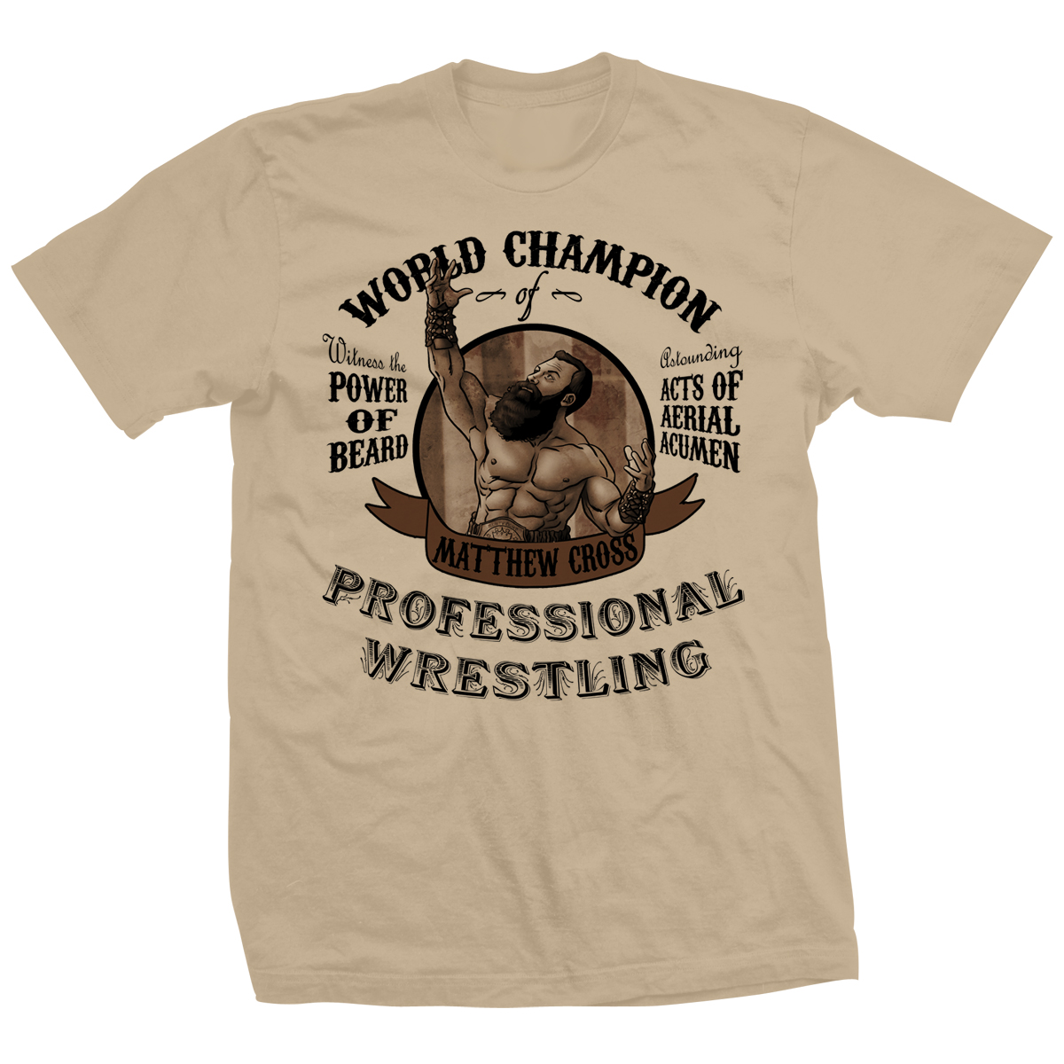 Matt Cross World Champion T-shirt