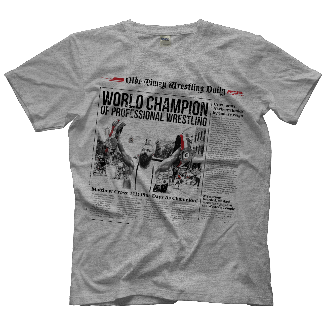 Matt Cross Front Page T-shirt
