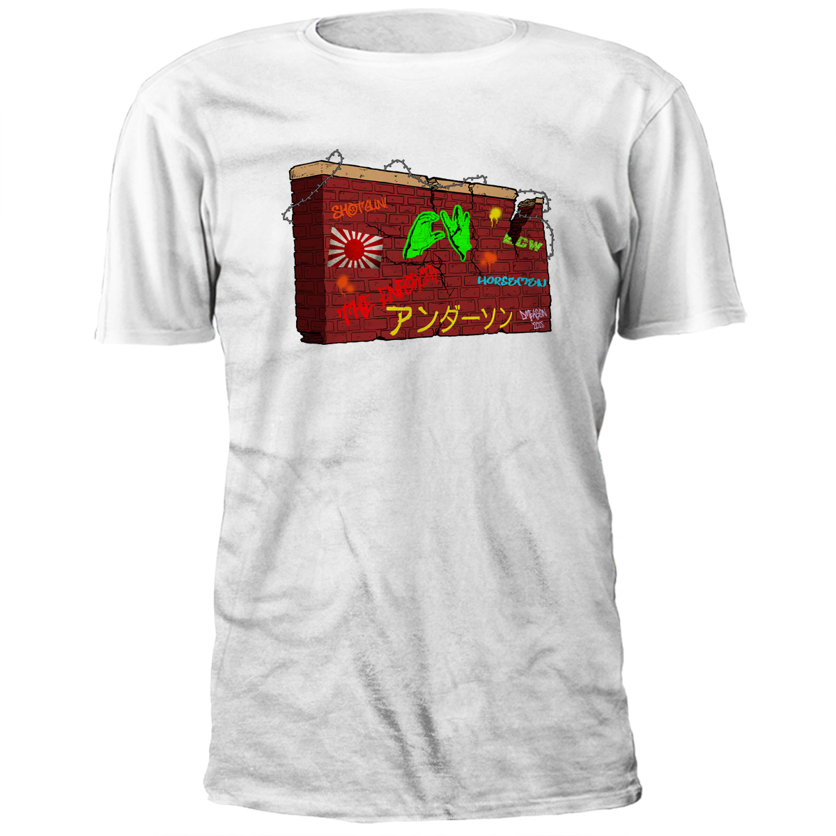 CW Anderson Wall Of History T-shirt