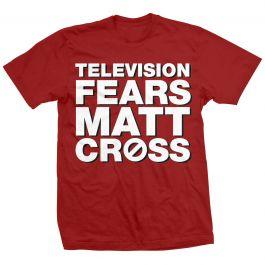 Matt cross professional wrestler television fears big for Cross counter tv shirts