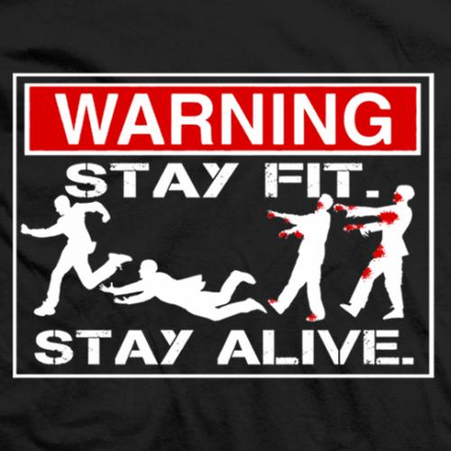 Bobby Lashley Stay Fit Stay Alive T Shirt