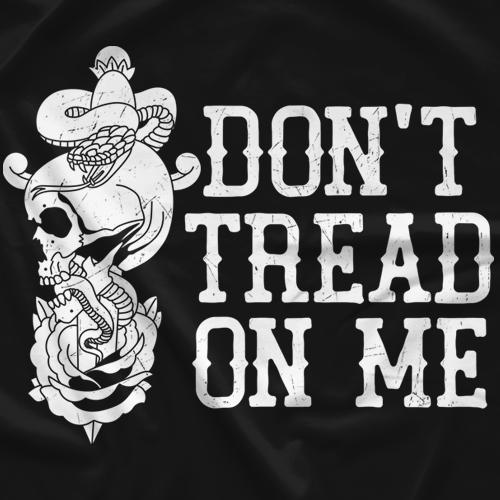 garett bischoff don t tread on me tattoo t shirt