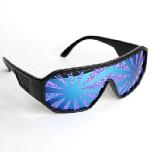 9e51280312a Macho Man Randy Savage Officially Licensed Holographic Purple Sunglasses