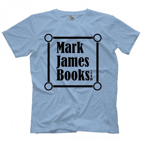 a5c4f73a20db Memphis Wrestling Shirts Mark James Books Black logo T-shirt