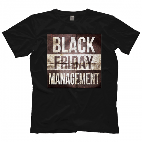 T Management Friday Black Friday Management Shirt Black pUzSMqGV
