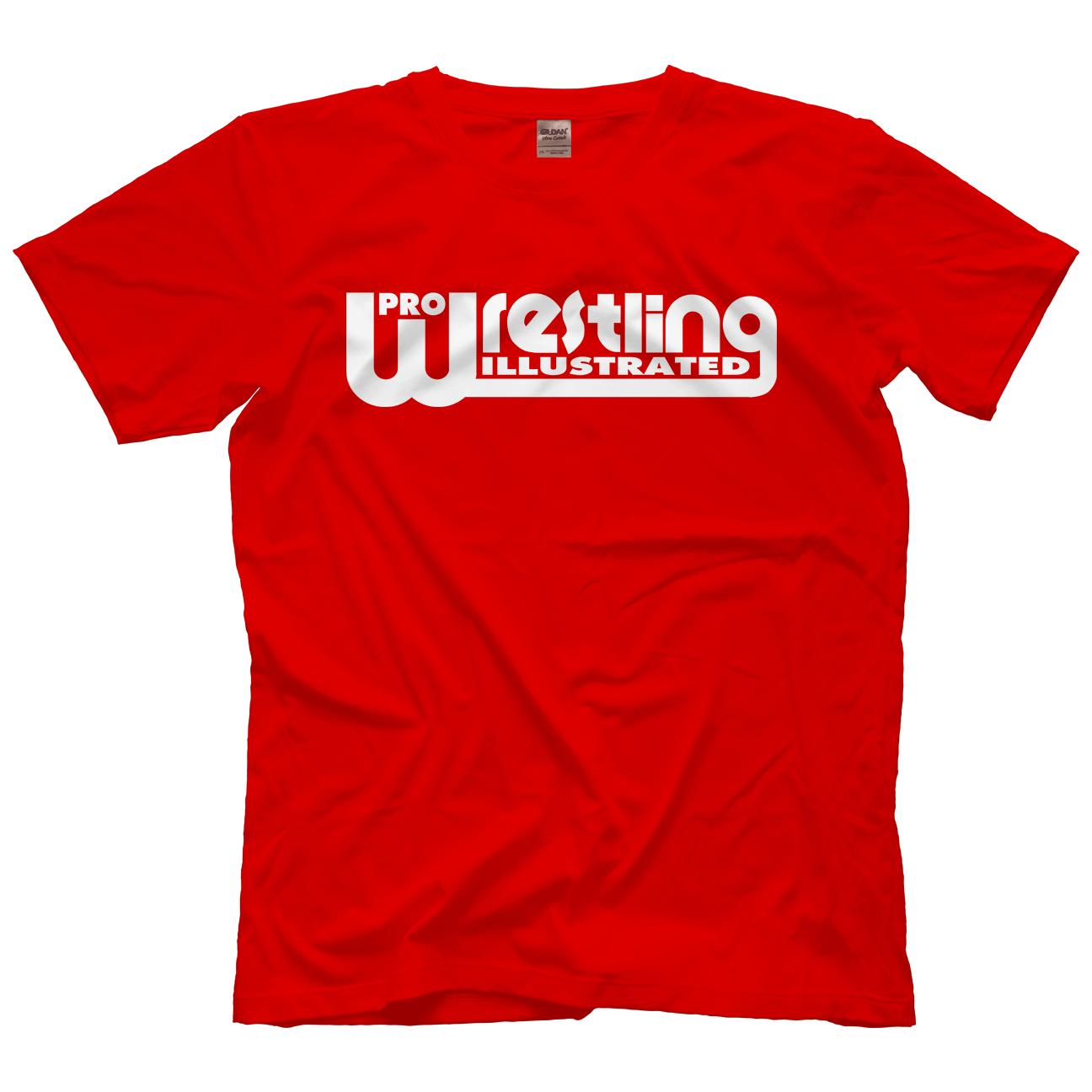 Pro Wrestling Illustrated Pwi White Multiple Color Options Shirt