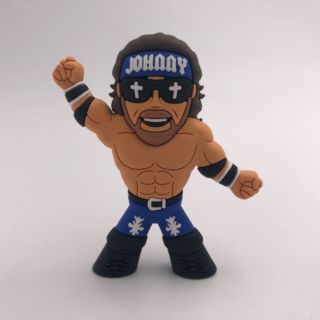 Johnny Gimmick Name Micro Brawler Figure