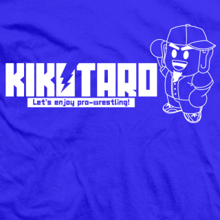 Kikutaro Let's Enjoy Pro Wrestling T-shirt