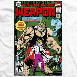 Comic Book Walking Weapon