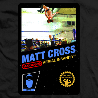 Matt Cross Eight-Bit T-shirt