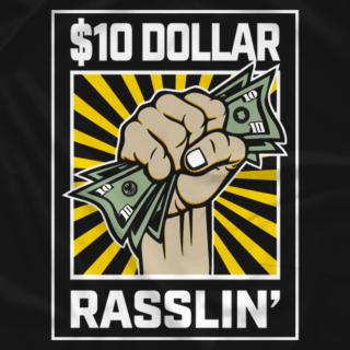 $10 Rasslin yellow