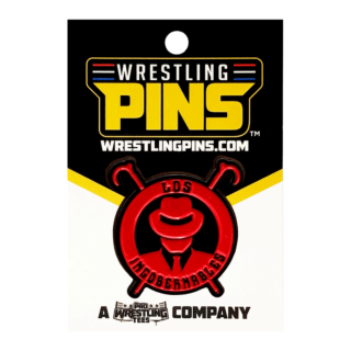 NJPW - LIJ Red Logo Wrestling Pin