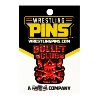 NJPW - Bullet Club Camo Red Wrestling Pin