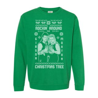 Rock n Roll Express Christmas Holiday Sweatshirt