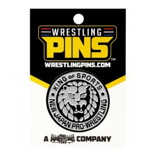 NJPW - Silver Lion Mark Wrestling Pin