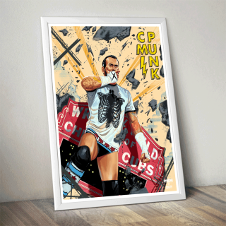 CM Punk Poster (Limited Edition 200 Prints)