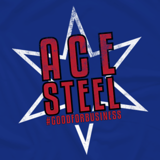 ACE STEEL GOOD FOR BUSINESS STAR (Available in 2 Colors)