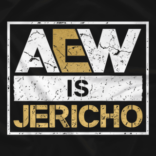 AEW is JERICHO T-shirt