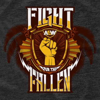 Fight For The Fallen Logo (Front Print Only)