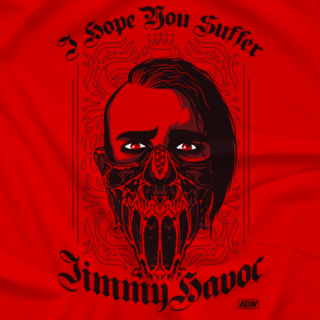 Jimmy Havoc – I Hope You Suffer (Also Avail. In Black...Obviously)