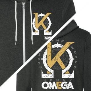 Kenny Omega - Change the World Zip Hoodie