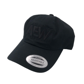 AEW Black Logo Dad Hat