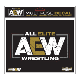 AEW Color Logo Multi-Use Decal