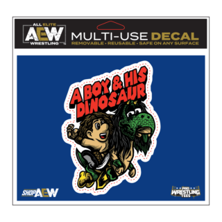 Jungle Boy & Luchasaurus - A Boy & His Dinosaur Multi-Use Decal