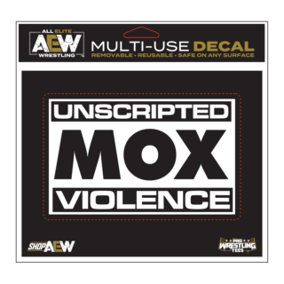 Jon Moxley - Unscripted Violence Multi-Use Decal