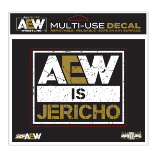 Chris Jericho - AEW is Jericho Multi-Use Decal