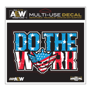Cody - Do The Work Multi-Use Decal