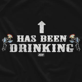 Hangman Adam Page - Has Been Drinking