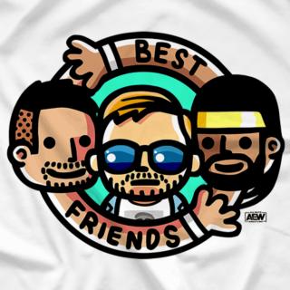 Best Friends & Orange Cassidy - Best Friends Trio Cartoon