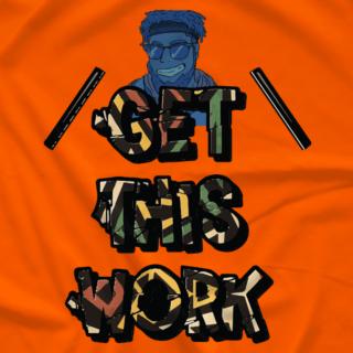 IYH Get This Work Shirt Orange