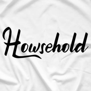 White Howsehold Script Shirt