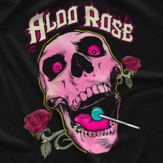 Aldo Rose Rose Skull T-shirt