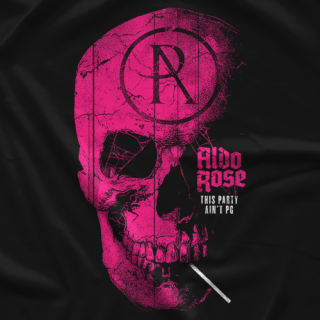Aldo Rose AR Skull T-shirt