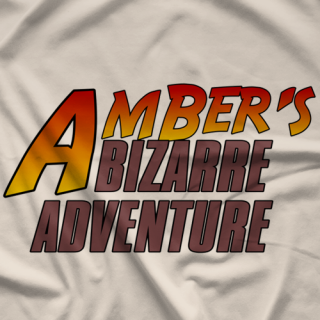 Amber O'Neal Bizarre Adventure T-shirt