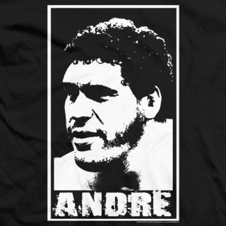 andre the giant official wrestling t shirt store