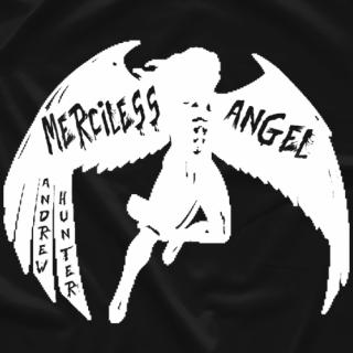 Andrew Hunter Merciless Angel T-shirt