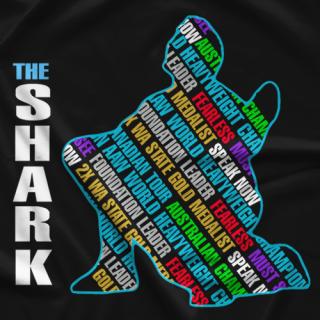 Andrew Carter Shark Fearless T-shirt