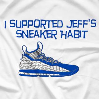 Jeff's Sneaker Habit