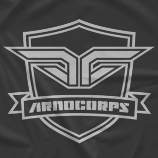 ArnoCorps Shield Gray on Gray