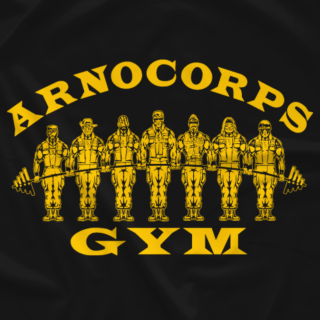 ArnoCorps Gym Yellow on Black