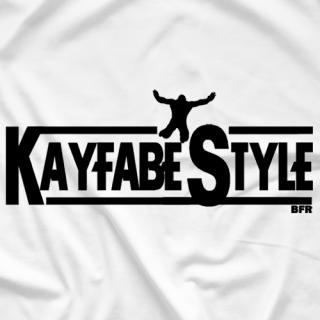 Kayfabe style