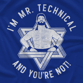 Mr. Technical (With a Pat on the Back Print)