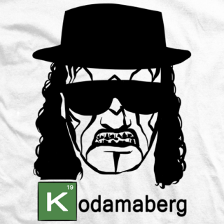 Breaking Bled: Kodamaberg - White T-shirt