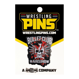 NJPW - Bullet Club Arising Wrestling Pin